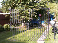 Double Wrought Iron Gates