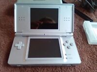 Nintendo ds with game fully working good condition