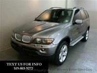 2006 BMW X5 4.4i AWD SPORT & ACTIVITY PKG! LTHR! SUNROOF! AS-I