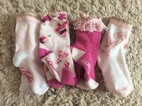 Baby girls ted Baker socks