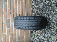 CONTINENTAL TYRE 195 / 55 R16 6M LEFT £ 10 NO TEXTS PLEASE THANK YOU