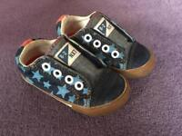 Boys Next Velcro Shoes Trainers Size 5