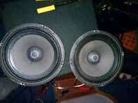 Pair of celestion C10H-100 trace elliot drivers.