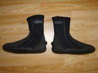 Diving Typhoon Titanium shoes for sale.