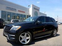 2012 Mercedes-Benz ML350 BlueTEC 4Matic Driver Assist Pkg Tow Hi
