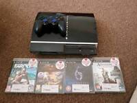 Play Station 3 with 8 games (accept offers)
