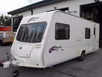 BAILEY PAGEANT BRETAGNE SERIES 6 CARAVAN - 2008 MODEL - 6 BERTH C/W ACCESSORIES