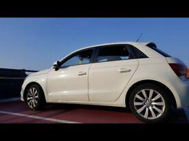 Audi A1 5 door 1.6 TDi in white