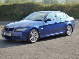 2007 BMW 320D M Sport 83k fsh,trade in considered,credit cards accepted, new turbo,flywheel & clutch
