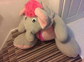 Large elephant toy