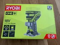 Ryobi 18v Trim router brand new