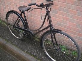 Vintage 1920-30s New Hudson Ladies Bike