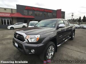 2014 Toyota Tacoma Limited, dbl cab, w/nav, leather, more