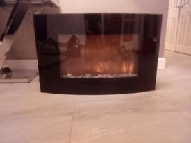 Modern Wall mounted electric fire