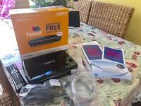 Humax 1100S PVR Freesat box with receipt and warranty!