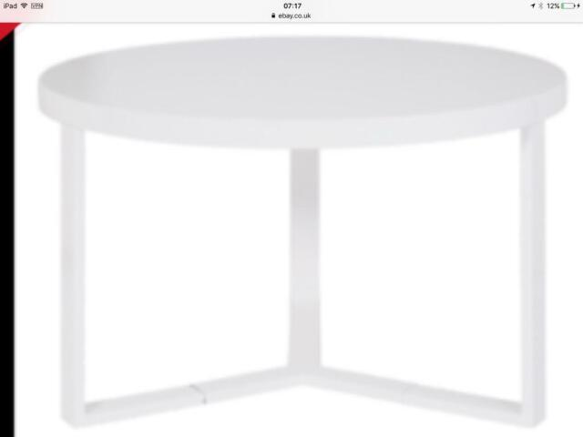 Hygena High Gloss Coffee Table White If You See This Ad Its Still For Sale In Cramlington Northumberland Gumtree