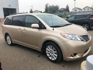 2014 Toyota Sienna LTD ALL WHEEL DRIVE, ONE OWNER