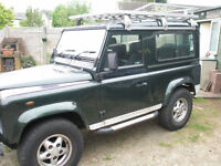1998 TD5 90 Defender County Station Wagon - New factory engine 20k miles