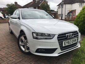 Audi A4 White 2013 great condition
