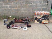 radio controled car hpi baja 1/5 electric