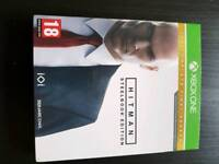 Hitman complete first season steel book edition Xbox one