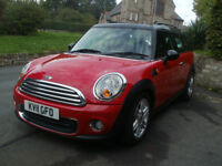 MINI Clubman 1.6 TD Cooper D (Chili) 5dr 1 F/Keeper,S/History, Excellent Condition