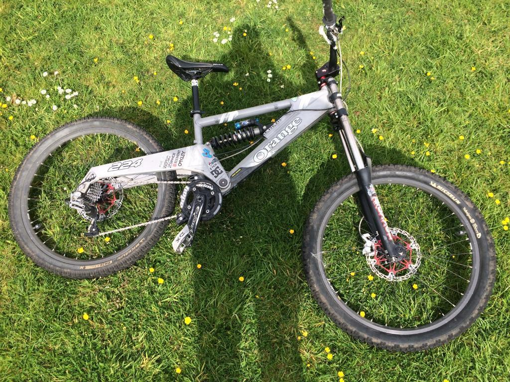 Orange 224 dh mountain bike (open to offers ) ** swaps for another ...
