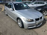 2008/08 BMW 320D M SPORT DIESEL ESTATE,FANTASTIC VALUE,LOOKS AND DRIVES WELL