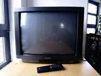 "30"" old style Panasonic TV, with remote"