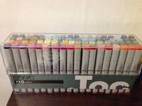 Copic markers set A (72 markers)