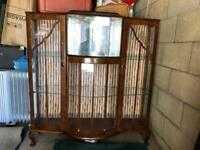 1950s Antique Display Cabinet