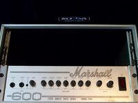 Marshall 25/50 Jubilee Series Model 3560 bass amplifier 600 watts