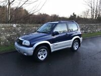 2004 Suzuki Grand Vitara 48k MILES! 16v SE, 1Yr MOT, Serviced and Valeted, 4x4 Jeep SWB