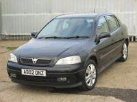 2002 (02 reg), Vauxhall Astra 1.6 i 16v SXi 5dr