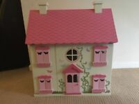 Young Girls Dolls House and Furniture