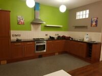 North Shields town centre 2 x double bedroom luxury flat. Ground floor with private entrance.