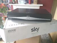 Sky+ HD box 250GB with all cables and box