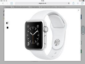 Apple watch 38mm white s1