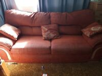 FREE FREE 2 x matching sofas for sale very good condition - poor pictures though