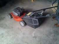 Briggs and stratton petrol lawnmower self propelled