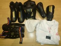 Taekwondo [TAGB] Official Sparring Gear set - Adult XL
