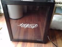 Guinness mini fridge Good condition Bit dusty due to being in shed Cash on collection please
