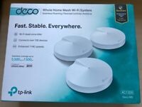 Deco M5, 3 Pack Whole Home Mesh Wi-Fi System