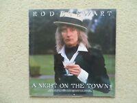 "Rod Stewart "" A Night on the Town"" Original 1976 vinyl LP"