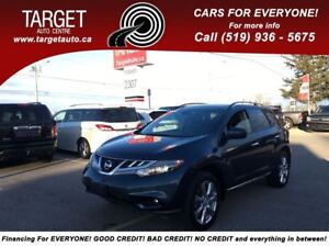 2012 Nissan Murano Platinum, Leather, Roof, Navi and More !!