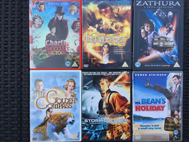 6 Teenager DVDs - used but very good condition