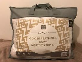 Dickens Luxury Goose Feather & Down Mattress Topper