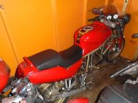 Spring Project Ducati SS600 supersports for spares or repairs