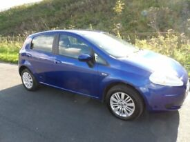 automatic fiat grande punto 1.4 petrol automatic 5 door long mot drive's spot on