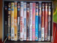 Kids dvds all £1 each